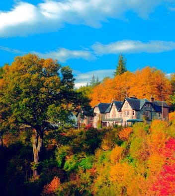Hotel in Autumn