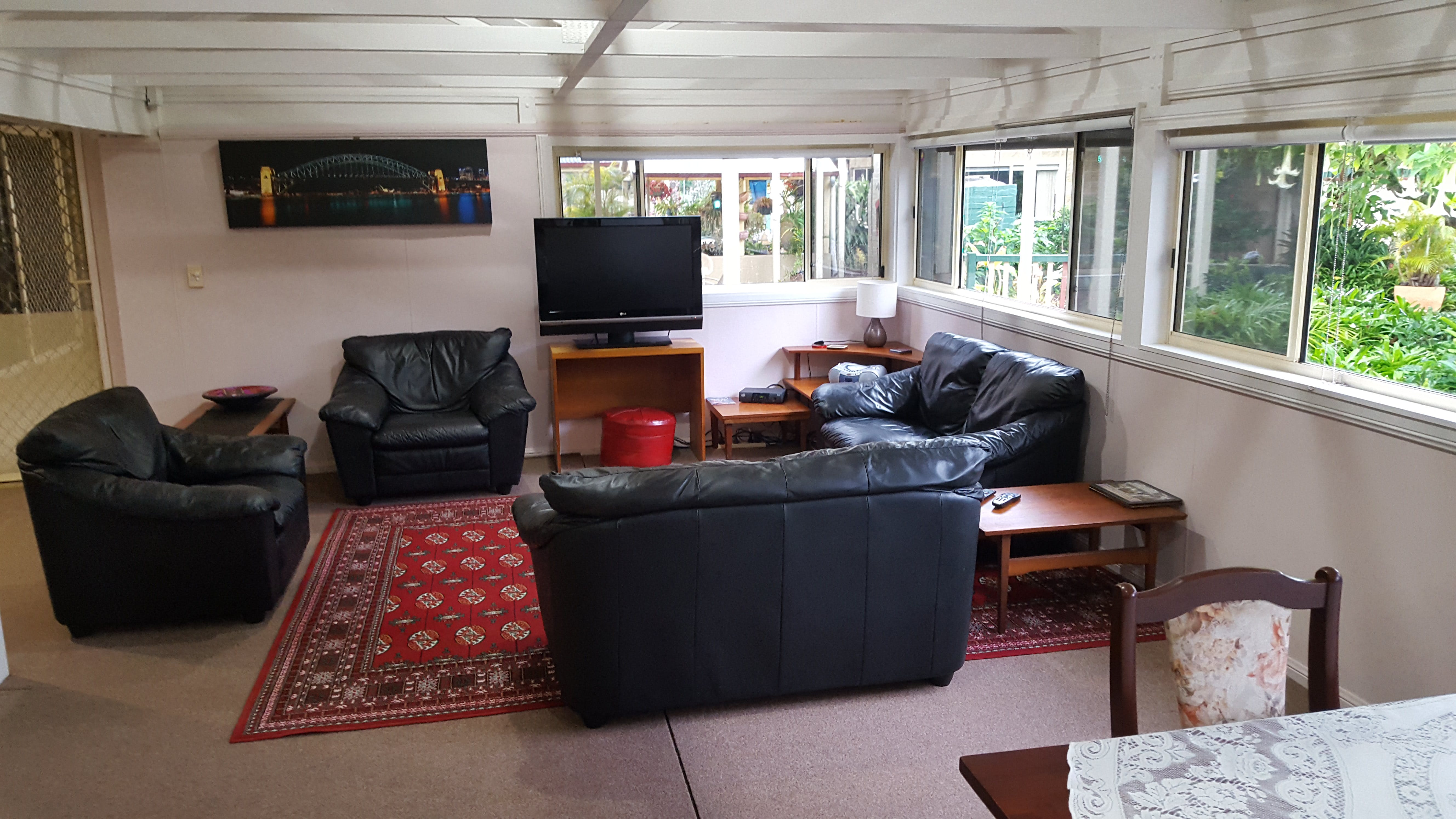 The Lodge - Lounge Area