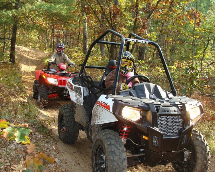 Lake County, Michigan we have direct ORV Trail Access