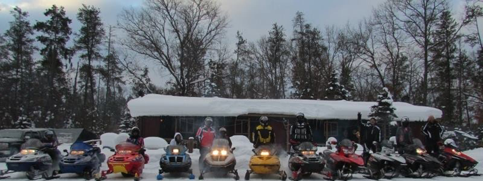 Direct Snowmobile Trail access