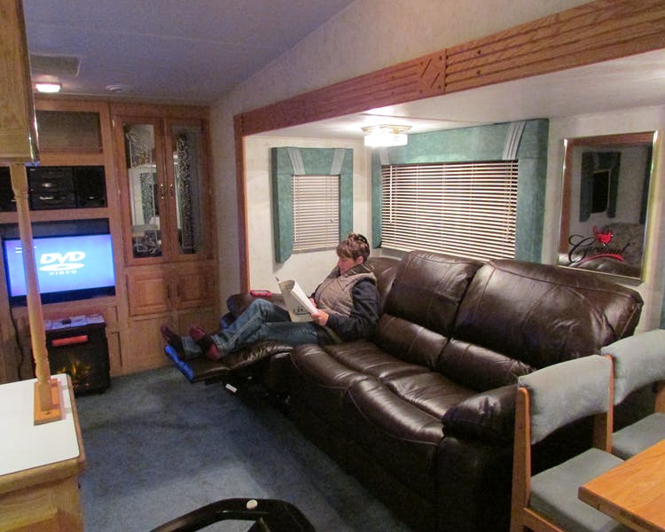 Cardinal Cabin RV for rent in our RV Park