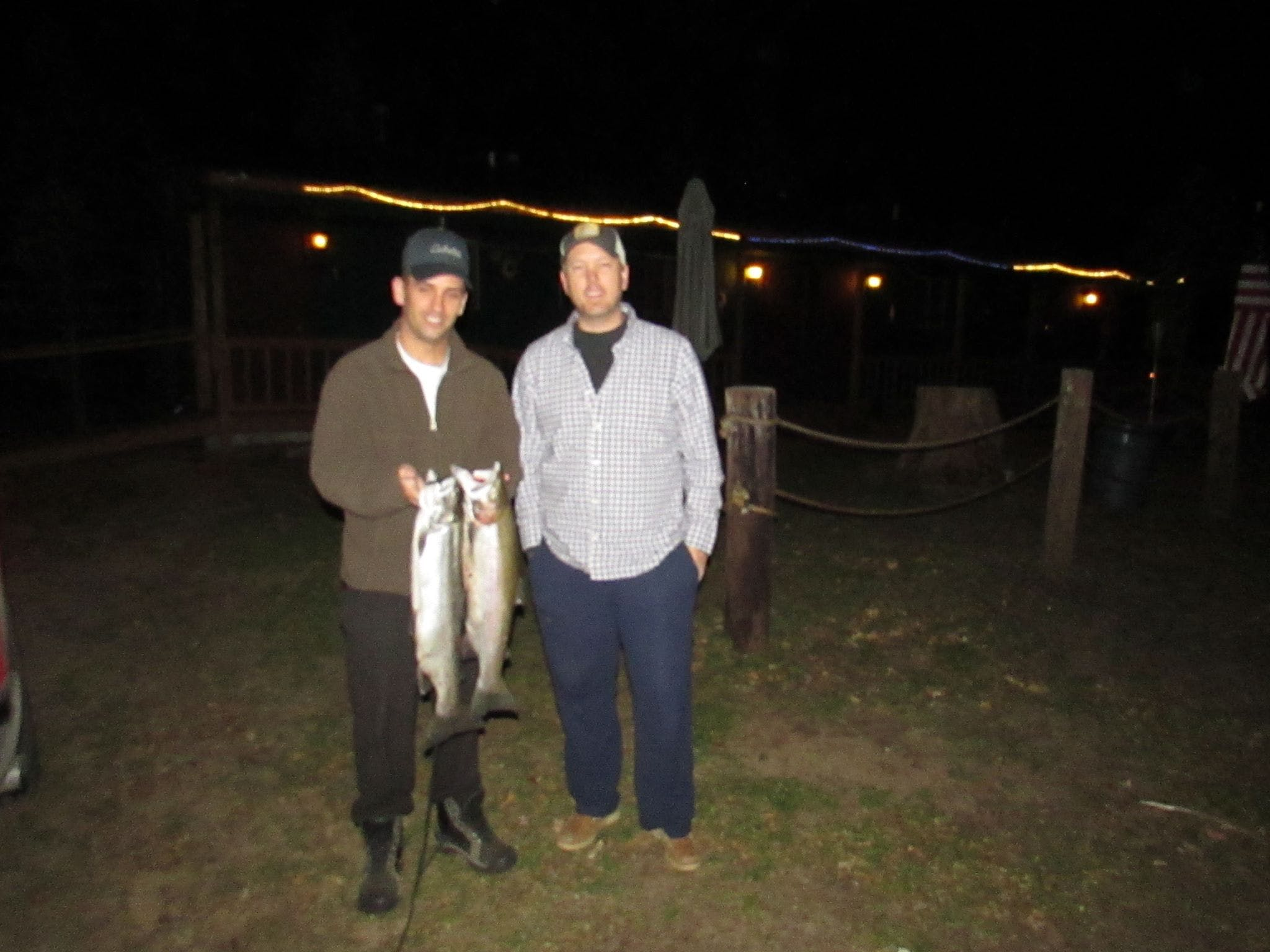 Best fishing is found north of Baldwin Michigan