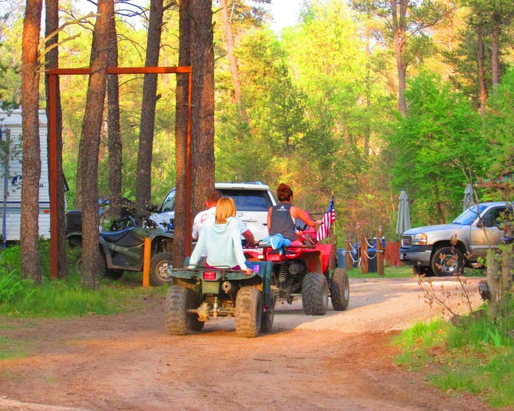 Direct ATV trail access