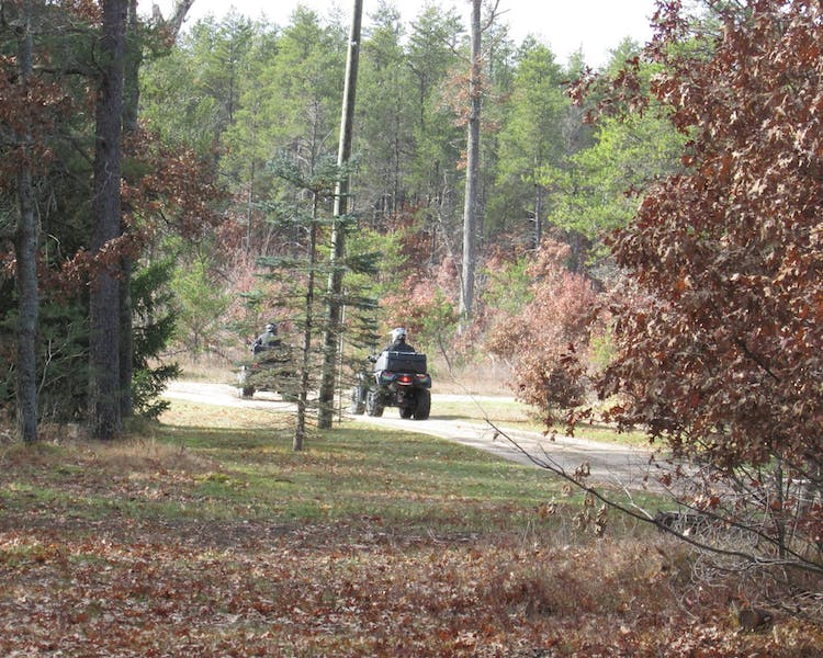 The ATV Trails start in Irons Michigan at Best Bear Lodge and Campground