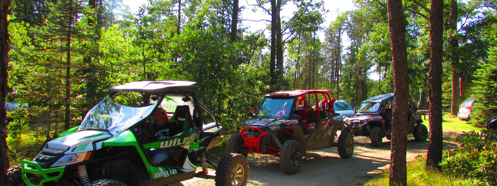 ATV Riding Best Bear Lodge & Campground