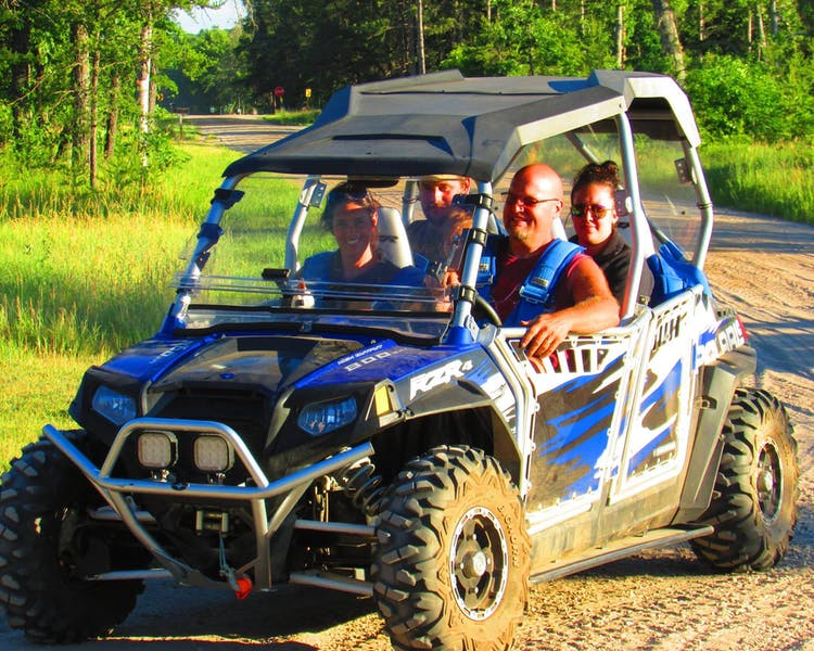 the whole family enjoys the lake county orv trails