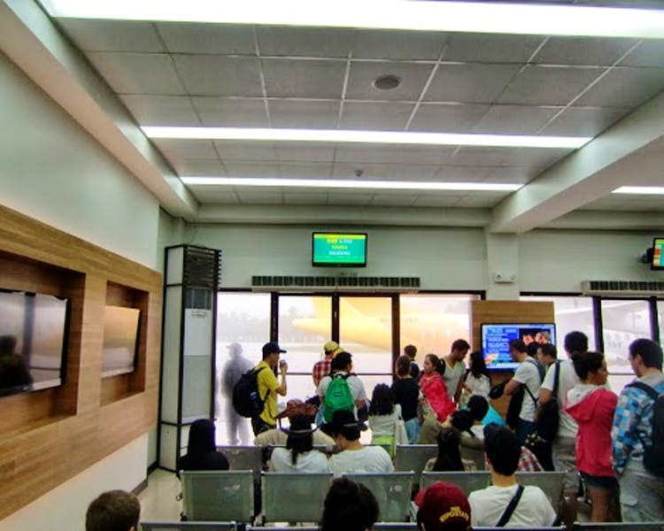 Caticlan Airport Waiting Area
