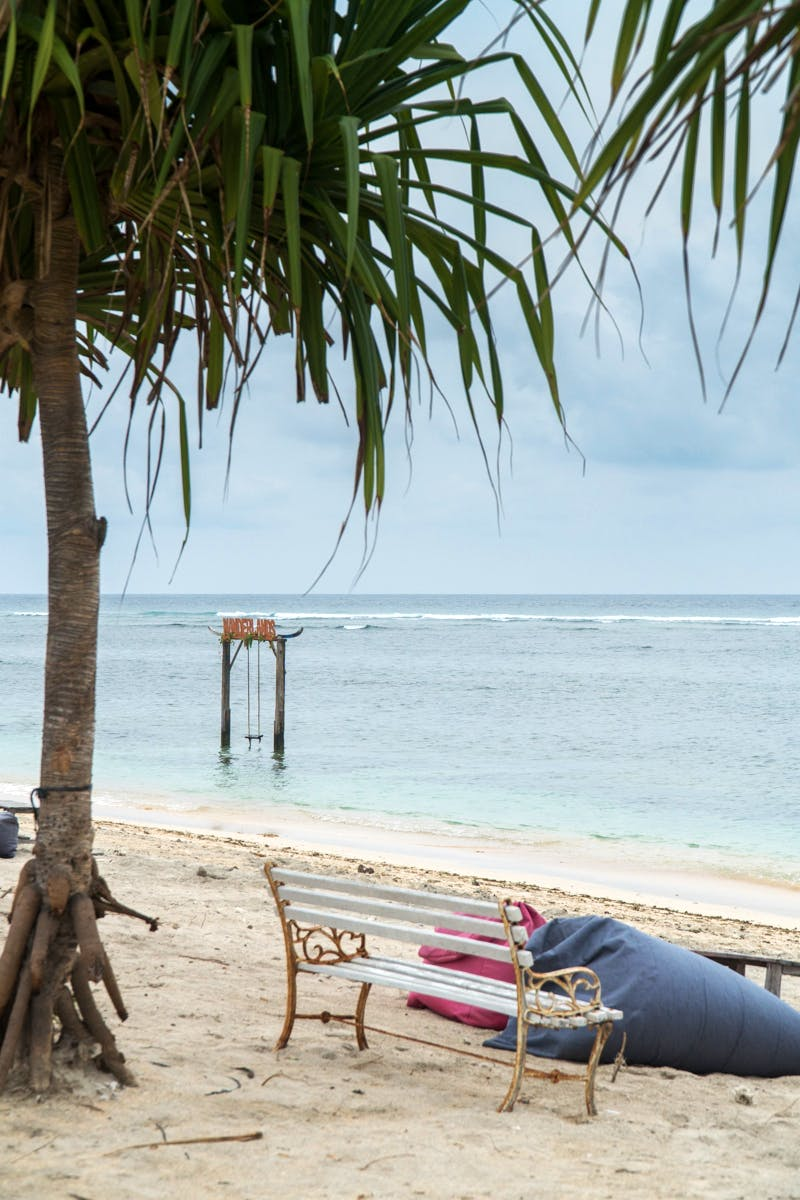 Beach View, Hotels in Gili Trawangan, Lombok