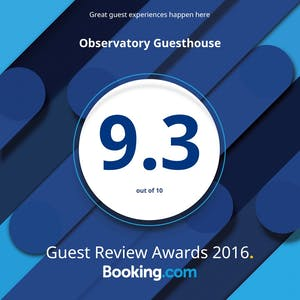 Booking.com rating 2016