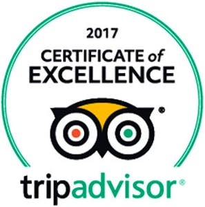 Observatory Guesthouse EARNS 2017 TRIPADVISOR CERTIFICATE OF EXCELLENCE  Busselton, WA, Australia – 2017 – Observatory Guesth