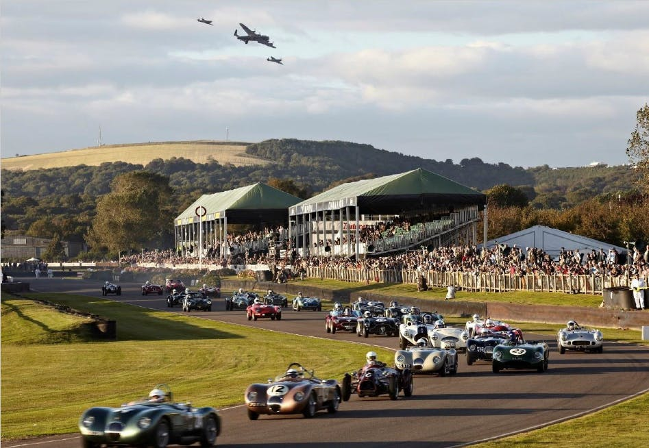 Experience Goodwood Revival 2018 differently this year by staying at The Grand Folly hotel just 1 mile away