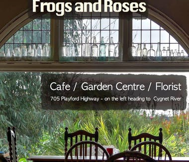 Frogs and Roses Cafe/Garden Centre & Florist