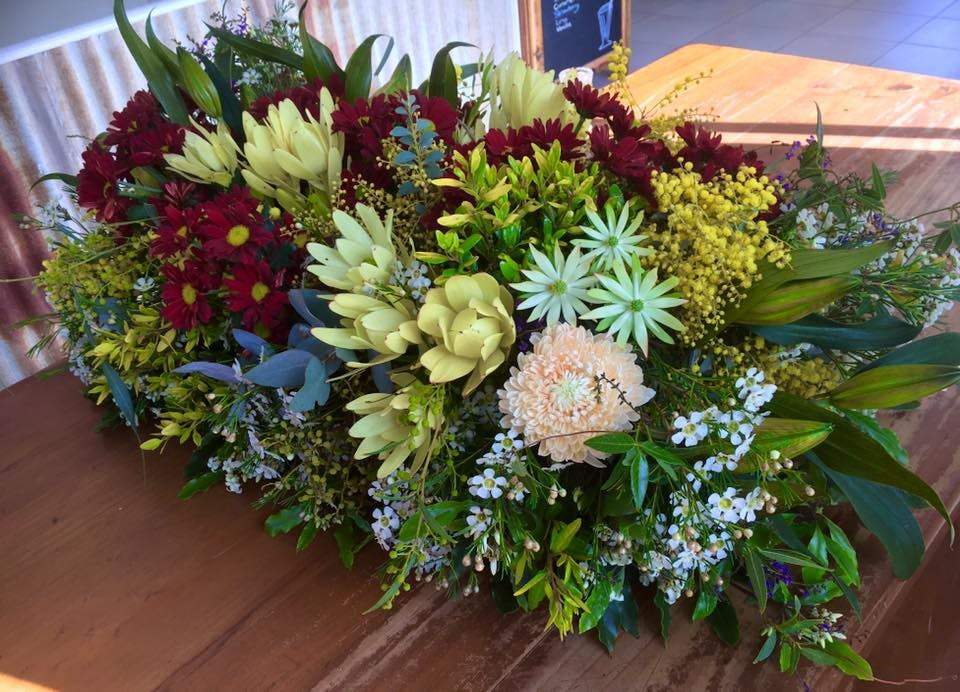 #Australian native flowers at Frogs & Roses