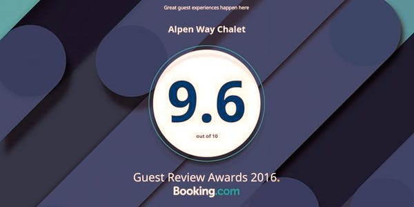 Yay! We've got a great rating  at Booking.com @bookingcom
