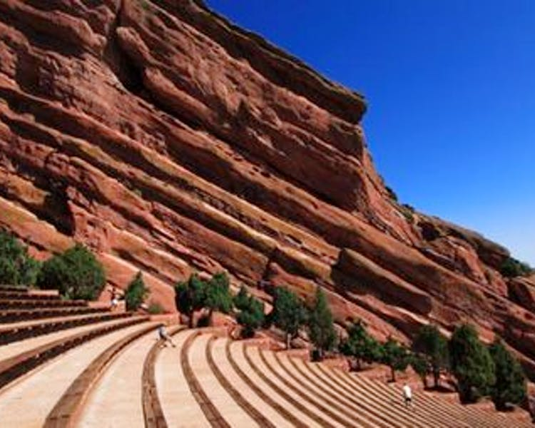 Red Rocks Amphitheater historic concert venue