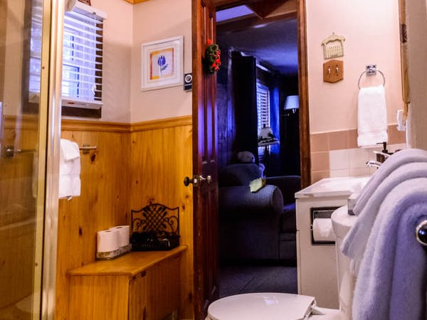 Bountiful Cabin Bathroom