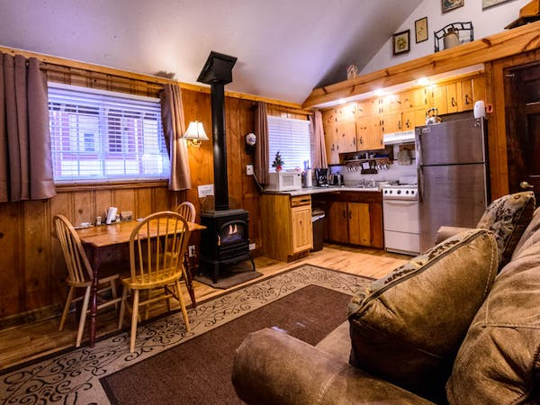 Bountiful Cabin Kitchen