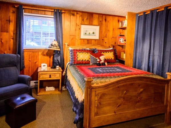 Bountiful Cabin Master Bedroom