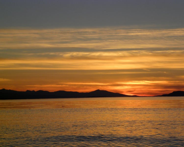 Qualicum Beach has the most amazing sunsets Elizabeth Manor Bed and Breakfast- Qualicum's Only B&B with an Indoor Pool,