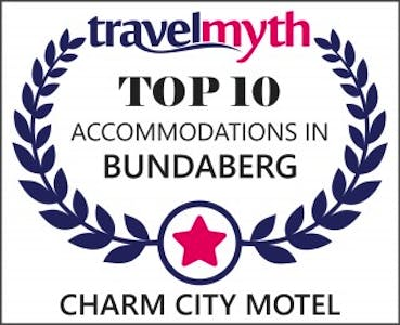 Travelmyth award Charm City Motel Bundaberg