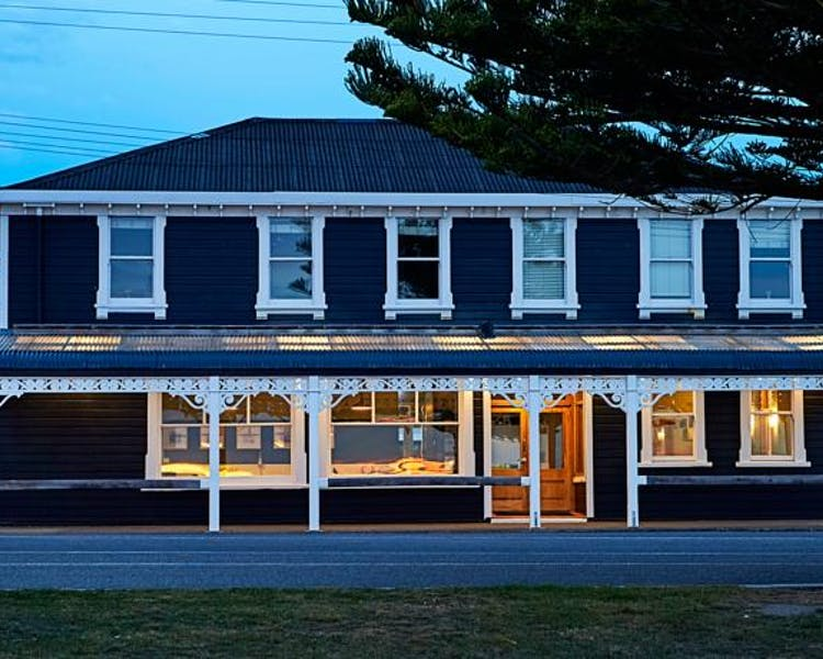 The grand old building - The Kaikoura Boutique Hotel