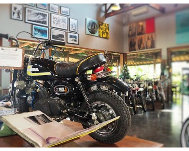 Deus - home to modified bikes and the hip surf culture. Great food as well.