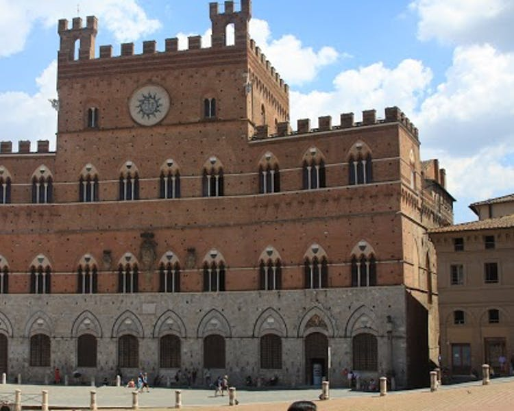 siena's main square