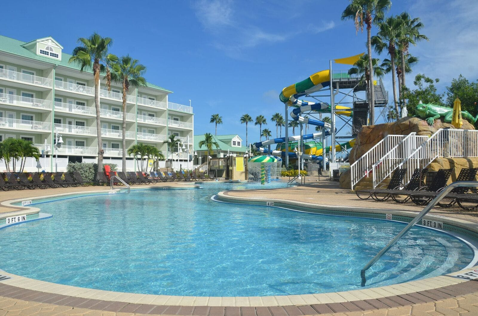 Harbourside At Marker 33, Indian Rocks Beach, 1 or 2 bedroom Condos. Waterpark. Waterslides.