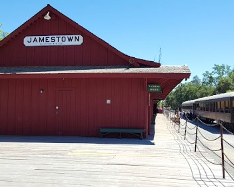 Railtown  State Historic Park  train station