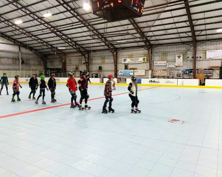 Skating at High Country Sports Arena