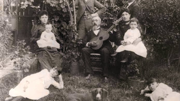 Original owner Edward Keil & family ,  a saloon-keeper and local businessman