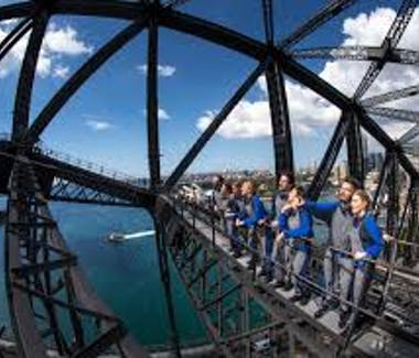 Bridge Climb on Sydney Harbour Bridge