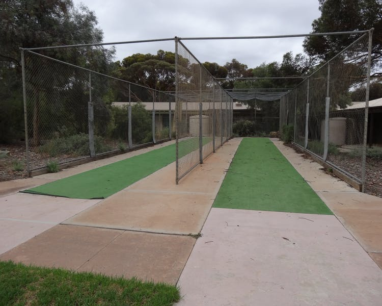 Cricket Nets, Leigh Creek Outback Resort, Flinders Ranges accommodation