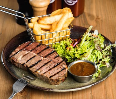 Scotch Steak, Leigh Creek Bar & Grill