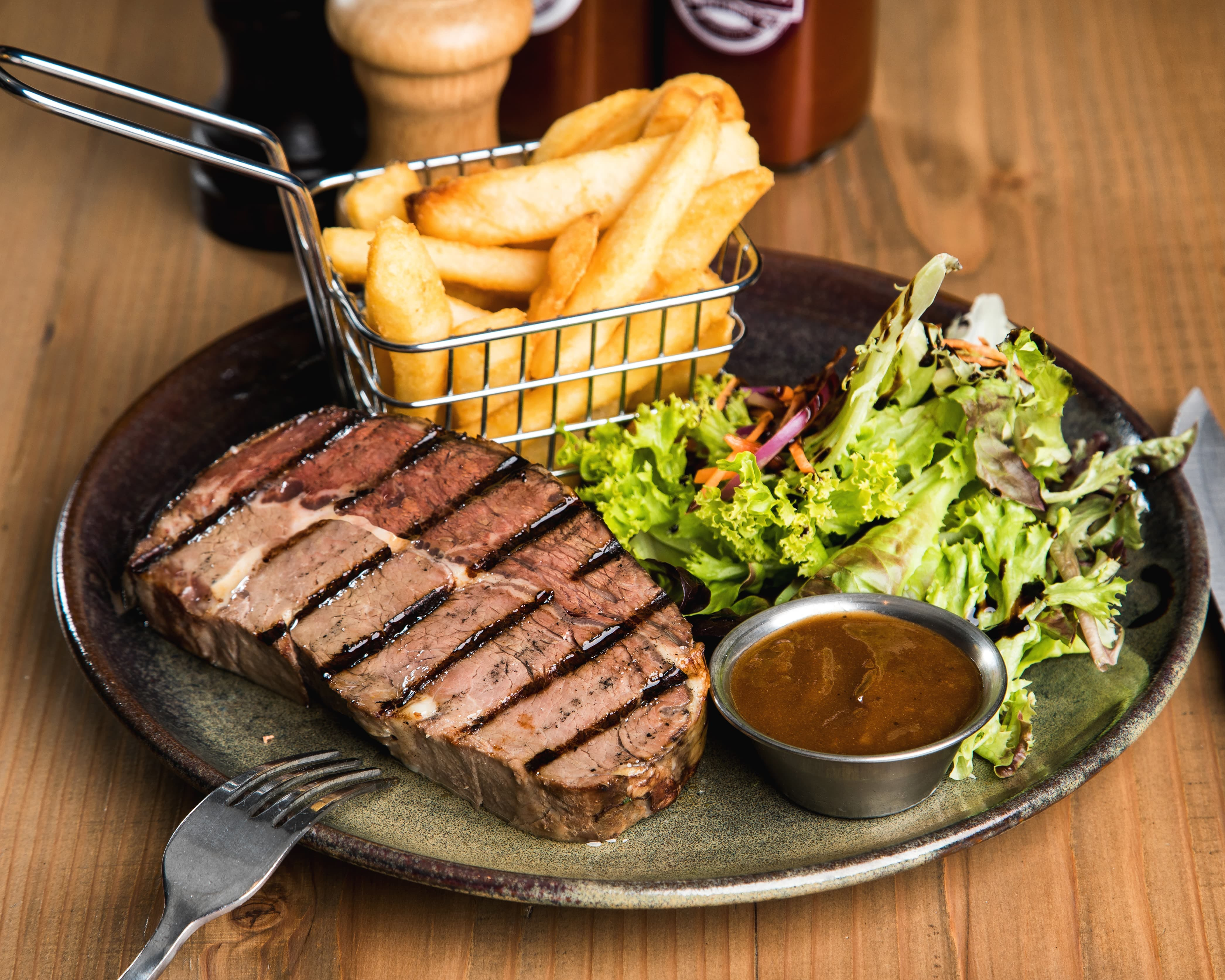 Scotch Steak, Leigh Creek Outback Resort, Flinders Ranges accommodation