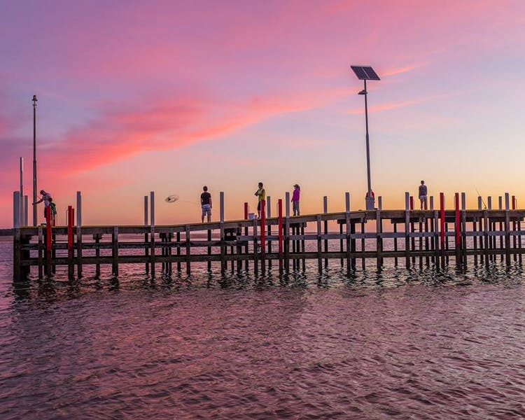 The Stunning Inverloch Jetty at sunset inverloch 3996