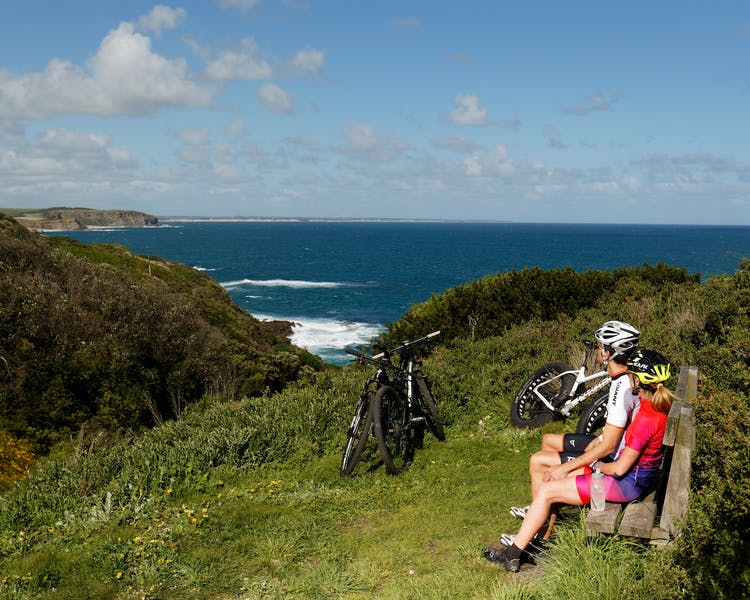The George Bass Coastal Walk great for mountain bikes Inverloch 3996