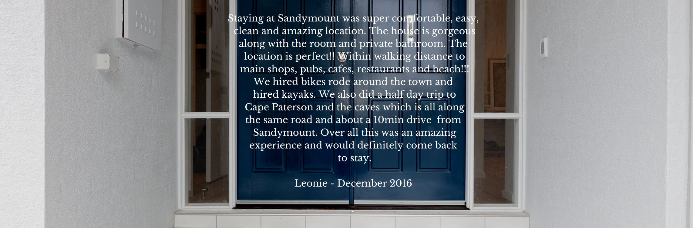 Sandymount Inverloch Guest Reviews