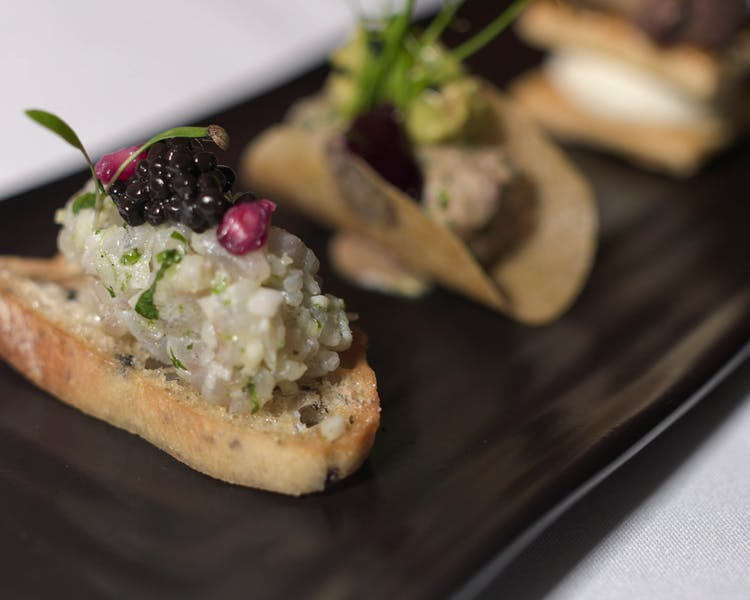Canapes, Cantley House