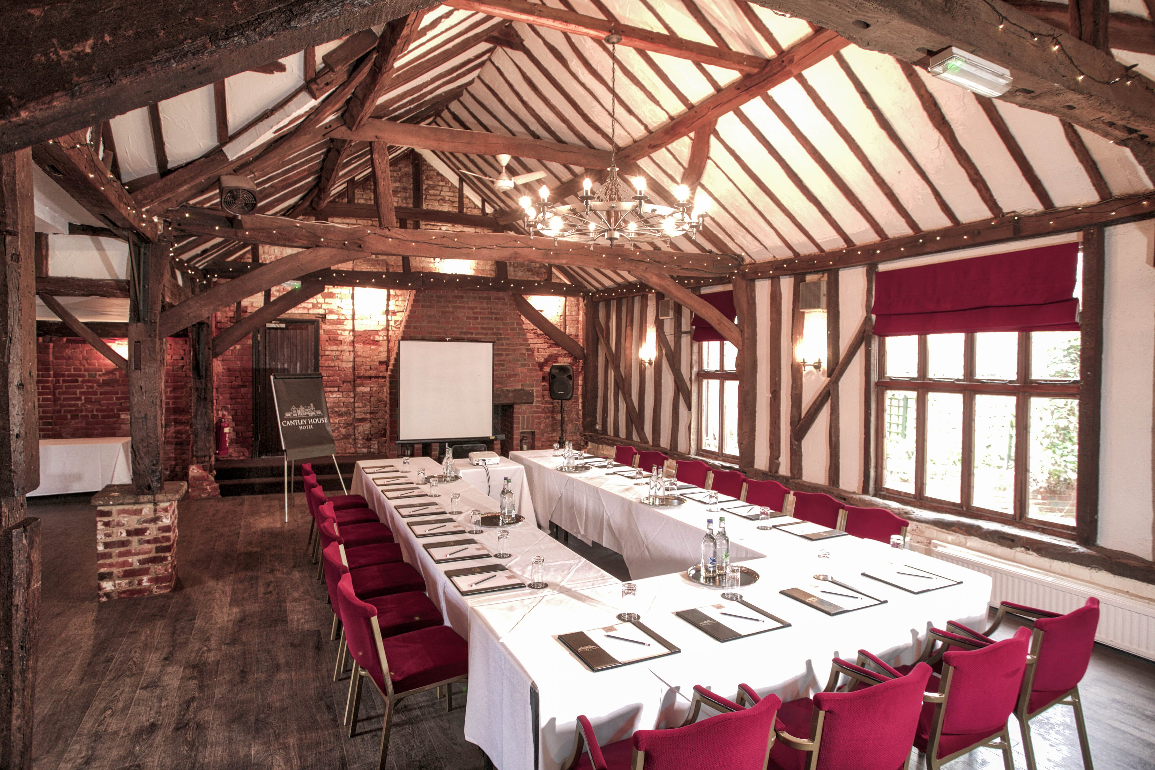 Meeting, The Briar, Cantley House, stately home