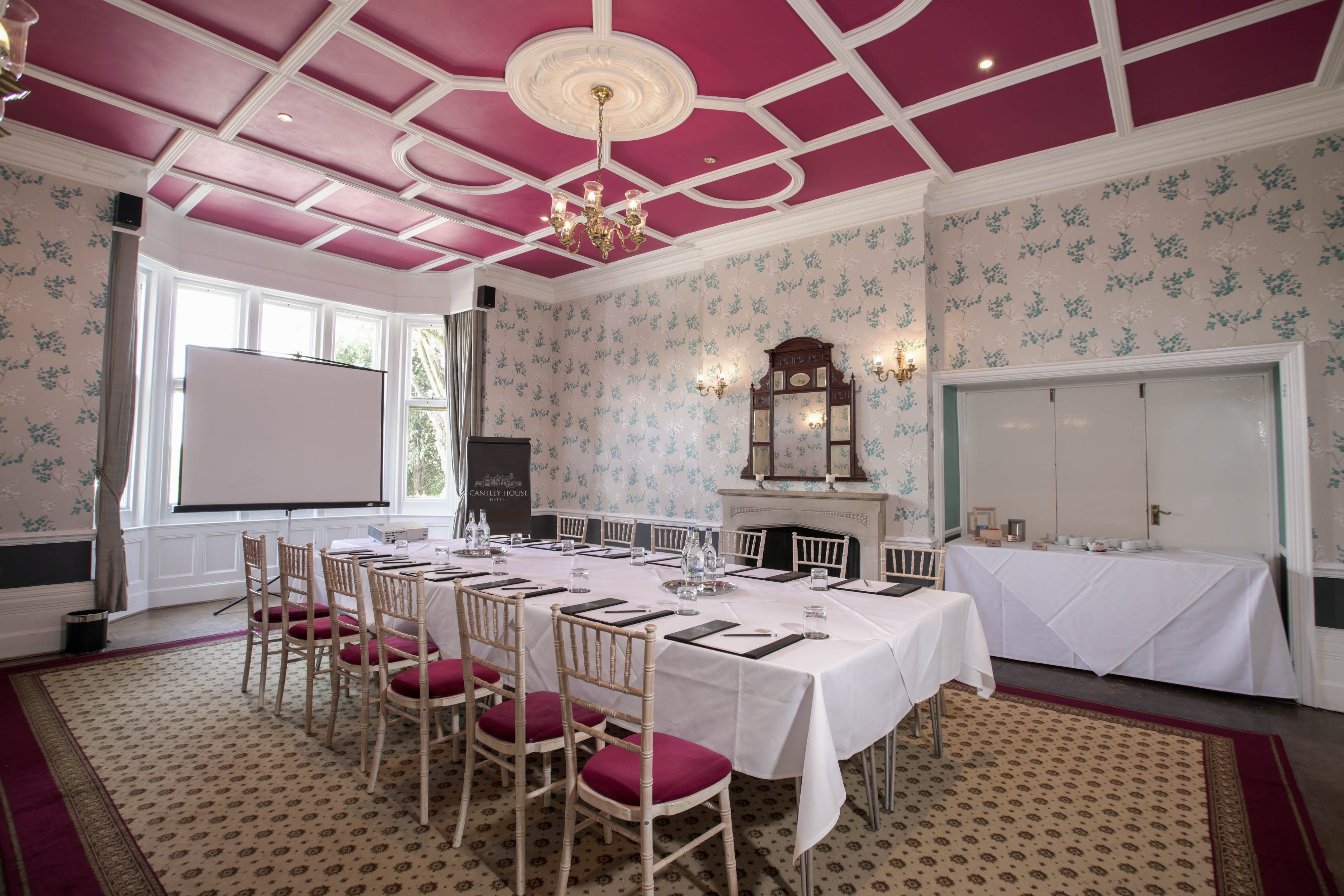 Meeting, Ormonde Room, Cantley House, stately home