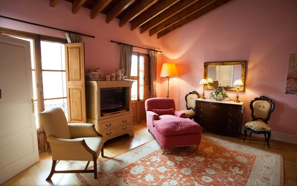 The Soller Double superior room at Salvia.
