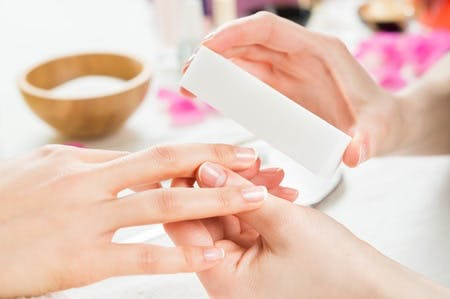 Manicure treatment available to Hotel Guests by appointment