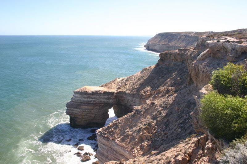 Kalbarri things to do? Visit the Kalbarri Natural Bridge and island Rock or Meanarra hill lookout