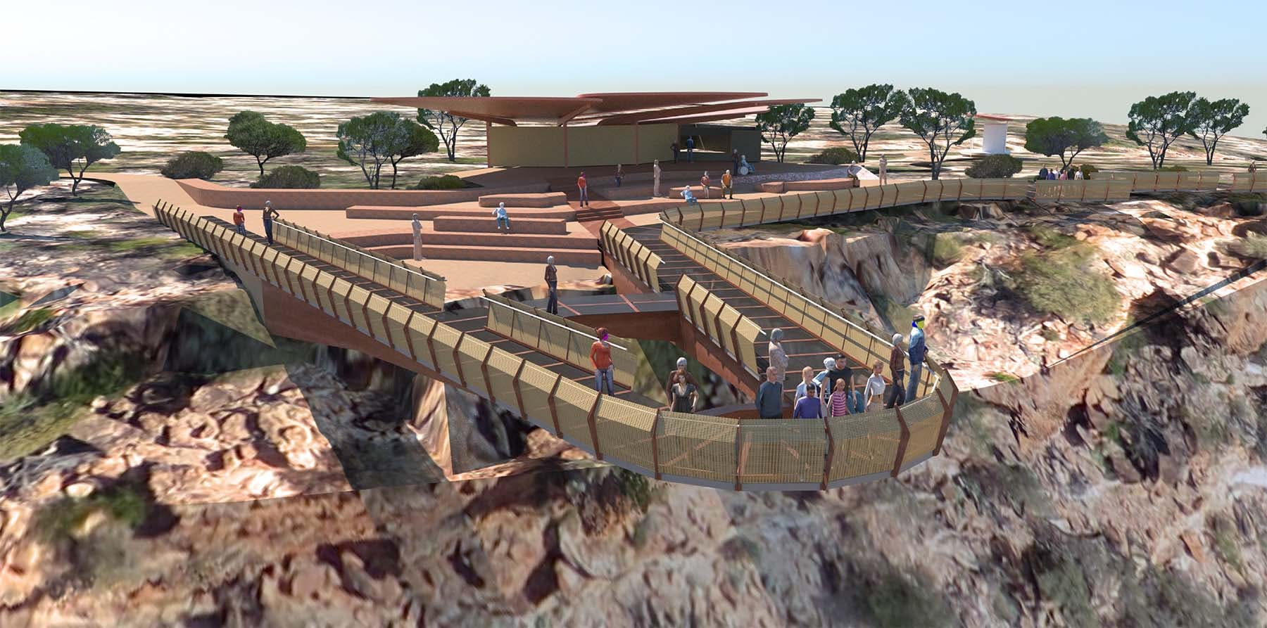 Kalbarri Attractions will be the Kalbarri Skywalk due for completion in 2018 in the Kalbarri National Park