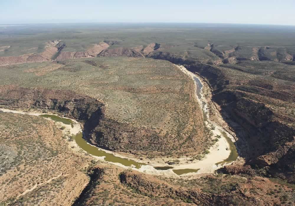 Z-Bend in the Kalbarri National Park