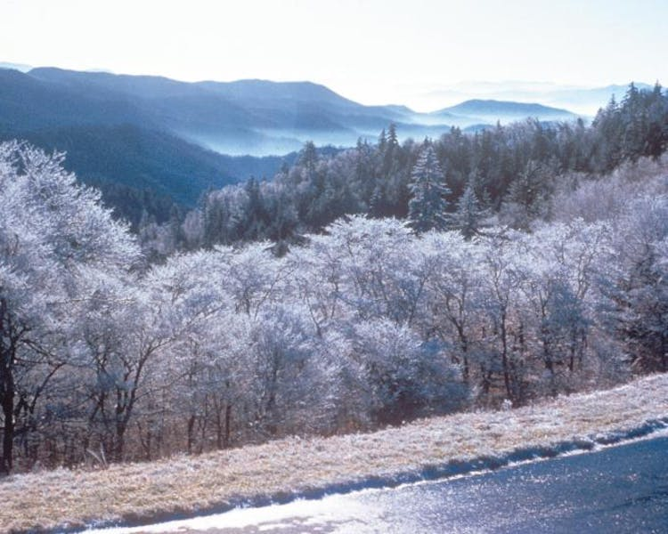 great smokies winter