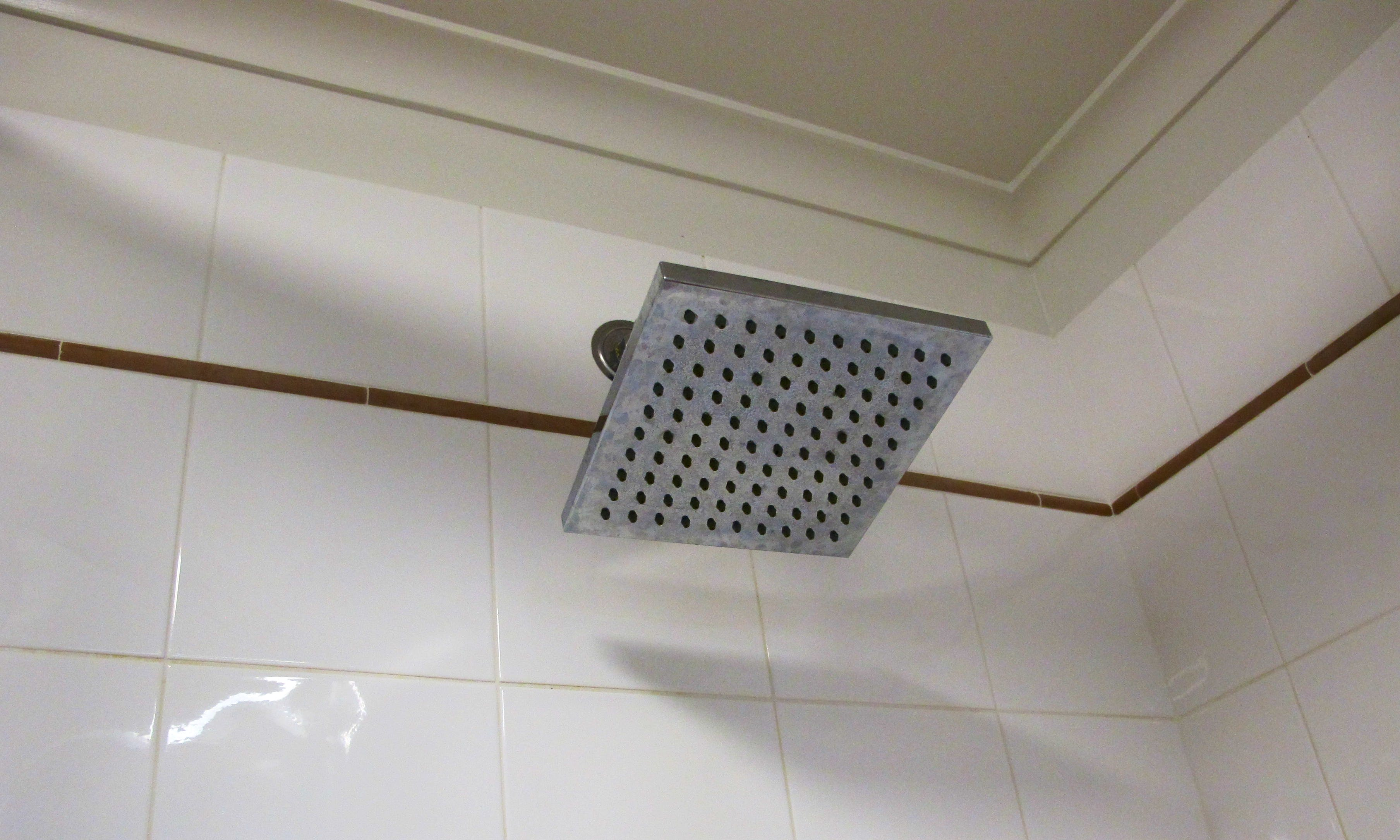 Rain-shower head with unlimited hot water