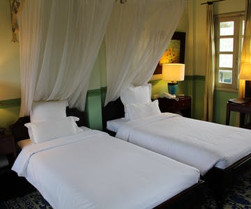 Villa Maly superior twin room