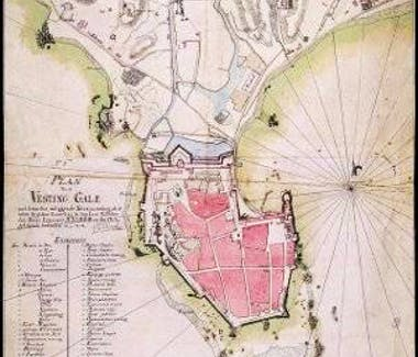 Galle Fort Map